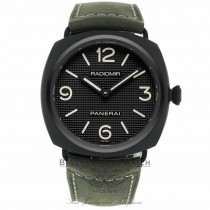 Panerai Radiomir Ceramica Black Dial Matte Ceramic PAM00643 6UF141 - Beverly Hills Watch