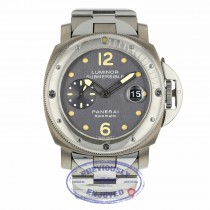 Panerai Submersible PAM170 44mm Titanium Stainless Steel Slate Dial PAM00170 XA9D68 - Beverly Hills Watch