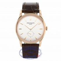 Patek Philippe Calatrava Opaline Dial 18K Rose Gold 5196R-001 6D9CLV - Beverly Hills Watch