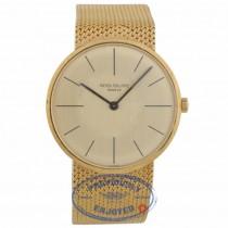 Patek Philippe Calatrava Vintage 18kt Gold Hand Wound 3513/5 R8DEWN - Beverly Hills Watch Company
