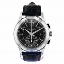 Patek Philippe Annual Chronograph Platinum Case Black Dial 42mm 5905P-001 WFTWN8 - Beverly Hills Watch