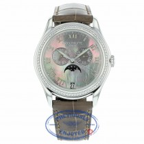 Patek Philippe Ladies 38mm Complications Annual Calendar 4936G-001 W5NM61 - Beverly Hills Watch Company