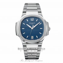 Patek Philippe Nautilus Ladies Stainless Steel Blue Dial 7118-1a-001 ZWU6U1 - Beverly Hills Watch Company