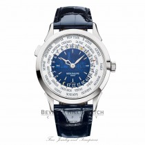 Patek Philippe World Time New York Limited Edition 18k White Gold 5230G010 QU4VJD - Beverly Hills Watch