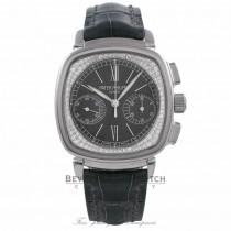 Patek Philippe Complications 18k White Gold Pale Grey Dial Alligator Strap 7071G-010 ZU3Q6U - Beverly Hills Watch Company Watch Store