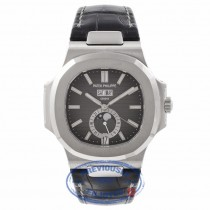 Patek Philippe Nautilus Annual Calendar Stainless Steel 5726A-001 2VECK3 - Beverly Hills Watch Company Watch Store