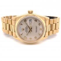 Rolex Day-Date 36MM President 18k Yellow Gold18038 PR8Z9Y - Beverly Hills Watch Company