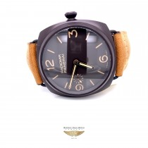 Panerai Radiomir 47mm Composite Case Brown Dial PAM00504 Q41N1D - Beverly Hills Watch Company
