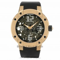 Richard Mille Rose Gold Ultra Flat Self-Winding Movement Platinum Micro-Rotor RM033 AO RG 2Y1K9J - Beverly Hills Watch