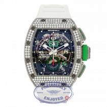 Richard Mille Mancini Edition Titanium Aftermarket Diamond RM11-01 AN Ti/046 KFZ9EY - Beverly Hills Watch