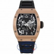 Richard Mille 18k Rose Gold RM010 Ubber Strap RM010 AH RG P3P4U3 - Beverly Hills Watch Company Watch Store