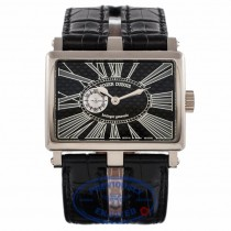 Roger Dubuis Gents Too Much White Gold Black Carbon Fiber Dial T31980K9.7S VG1UZE - Beverly Hills Watch Company Watch Store