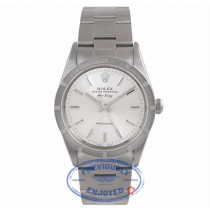 Rolex Air-King 34MM Stainless Steel Silver Dial Oyster Bracelet 14010 CE15Z7 - Beverly Hills Watch Store