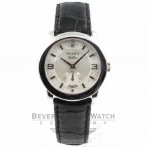 Rolex Cellini Platinum Case Mother of Pearl Dial Watch 5240/6 Beverly Hills Watch Company