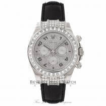 Rolex Daytona 40MM 18K White Gold Diamond Bezel 116599 WPNDCN - Beverly Hills Watch Store