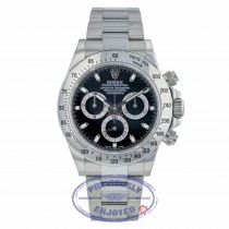 Rolex Daytona Classic, 40mm Stainless Steel Black Dial 116520 960WZ7 - Beverly Hills Watch Company
