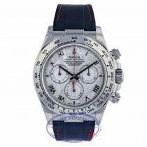 Rolex Daytona Meteorite Roman Dial White Gold 116519 R2DCW8 - Beverly Hills Watch Company