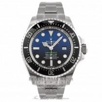 Rolex DeepSea Sea Dweller 44MM Stainless Steel Blue Dial James Cameron 116660 - Beverly Hills Watch Store