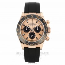 Rolex Cosmograph Daytona Everose Ceramic Bezel Rose Dial 116515LN ZKJ7A2 - Beverly Hills Watch