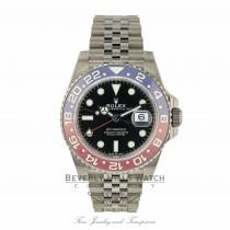 Rolex GMT Master II Stainless Steel Ceramic Pepsi 126710BLRO TWJ4VY
