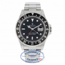 Rolex GMT-Master II Automatic 40mm Classic Stainless Steel 16710 AE2XL1 - Beverly Hills Watch Company