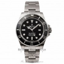 Rolex Sea-Dweller 40MM Stainless Steel Black Dial Cerachrom Bezel Oyster Bracelet 116600 K1X3P1 - Beverly Hills Watch Store