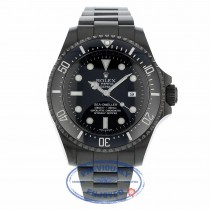 Rolex DeepSea Sea-Dweller Blackout 44mm DLC 116660 F47UVN - Beverly Hills Watch Company