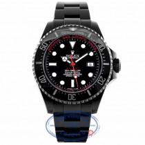 "Rolex Deep Sea Deep Red ""Black-Out"" 44mm 116660 8MWV9Y - Beverly Hills Watch Company"
