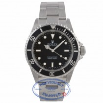 Rolex Submariner 40MM Stainless Steel Black Dial No Date Oyster Bracelet 14060 D0U56W - Beverly Hills Watch Company Watch Store