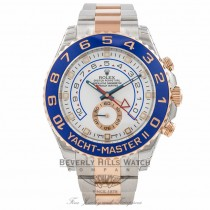 Rolex Yacht-Master II 44mm Rose Gold and Stainless Steel 116681 JHWNUW - Beverly Hills Watch Company