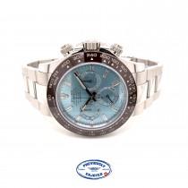 Rolex Daytona Platinum Ice Blue Diamond Dial Cerachrom Bezel 116506 MMD8HH