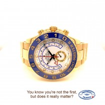 Rolex Yacht-Master II 44mm Yellow Gold Watch 116688 M5WURE - Beverly Hills Watch Company