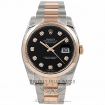 Rolex Datejust Stainless Steel and Rose Gold - Beverly Hills Watch Company Watch Store