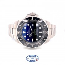 Rolex DeepSea Sea James Cameron 44MM Stainless Steel Blue Dial 116660 U54NM0 - Beverly Hills Watch Company