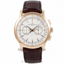 Vacheron Constantin Patrimony Traditionnelle Chrono 18k Rose Gold 47192/000R-9352 XBLYTB - Beverly Hills Watch Company Watch Store