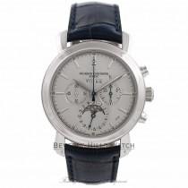 Vacheron Constantin Malte Perpetual Calendar Platinum Chronograph Watch 47212/000P-9250 Beverly Hills Watch Company Watches