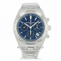 Vacheron Constantin 42.50mm Overseas Chronograph Automatic Blue Dial 5500V/110A-B148 WH4LM3 - Beverly Hills Watch