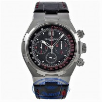 Vacheron Constantin Overseas Special US Limited Edition Stainless Steel 43MM Chronograph Black Dial 49150/000/A-9337 9R8294 - Beverly Hills Watch Company Watch Store