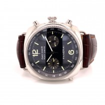 Panerai Radiomir Chrono Rattrapante 45mm Stainless Steel PAM00214 VKKR38 - Beverly Hills Watch Company