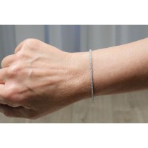 Naira & C 1.58ct Diamond Tennis Bracelet WUKC26 - Beverly Hills Watch Company