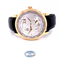 A. Lange & Sohne 1 Time Zone 41.9mm Rose Gold 116.032 XJDC7L - Beverly Hills Watch Company