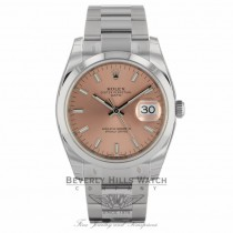 Rolex Date 34mm Stainless Steel Watch 115200 XXQXAD - Beverly Hills Watch Company
