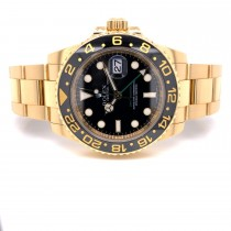 Rolex GMT Master II 18k Yellow Gold Ceramic 116718 Y5K4LY - Beverly Hills Watch Company