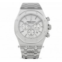 Audemars Piguet Royal Oak Chronograph Silver Dial 26320ST.OO.1220ST.02 WU2WY8 - Beverly Hills Watch Company