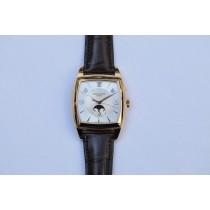 Patek Philippe Gondolo Annual Calendar Calendario Rose Gold Silver Dial 5135r-001 YXCQT9 - Beverly Hills Watch Company