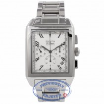 Zenith ElPrimero Rectangle Chronograph Stainless Steel 03.0550.400/02.C507 ACIN33 - Beverly Hills Watch Company Watch Store