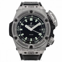 Hublot Watches Big Bang King Power Stainless Steel Diver Oceanographic 4000 48mm Watch 731.NX.1190.RX Beverly Hills Watch Company Watches