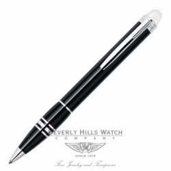 Montblanc Starwalker Black Resin Ballpoint Pen 8486 Beverly Hills Watch Company Pen Store