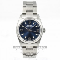 "Rolex Midsize Stainless Steel ""Oyster Perpetual"" Ref 77080/ A series Beverly Hills Watch Company"