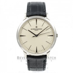 Vacheron Constantin 18K White Gold Patrimony Contemporary Automatic Watch86180/000G-9290 Beverly Hills Watch Company Watches